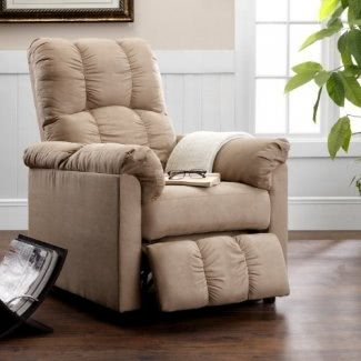 Dorel Asia Slim Sillón reclinable, beige