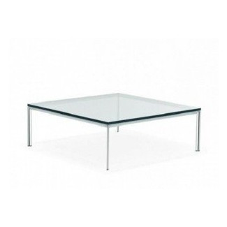 Tapa de vidrio para mesa de centro cuadrada grande