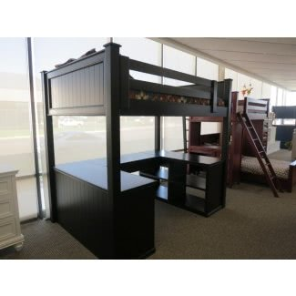 Cama alta para adultos con escritorio [19659007] ❤️ </span></div> <p class=