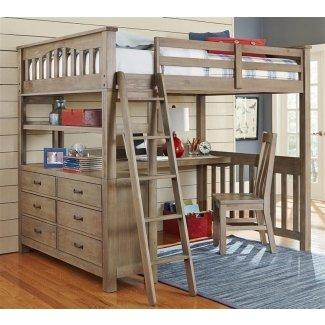 Cama alta con escritorio id 3095438