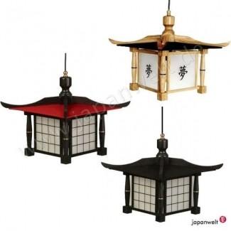 Lámpara colgante estilo pagode jw