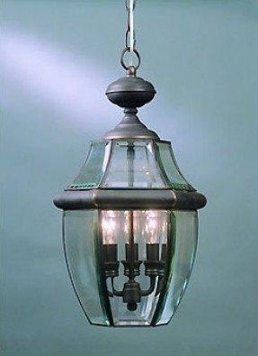 Newbury 3 Light Outdoor Hanging Lantern / Pendant