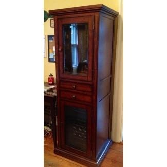 Gabinete con mini refrigerador