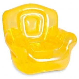 Silla inflable Bubble Inflatables, amarillo canario