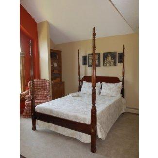 Estructura de cama con postes
