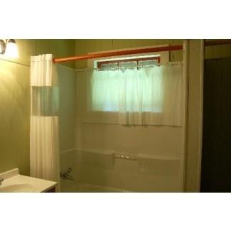 Cortinas para ventana de ducha cortinas para ventana de ducha
