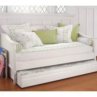 Sofá cama de tamaño completo con cama nido