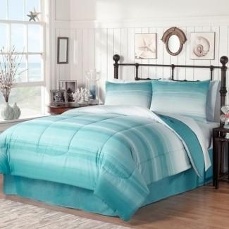 Ropa de cama con temática de playa