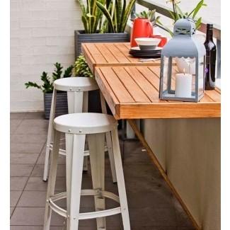 Mesas plegables para patio