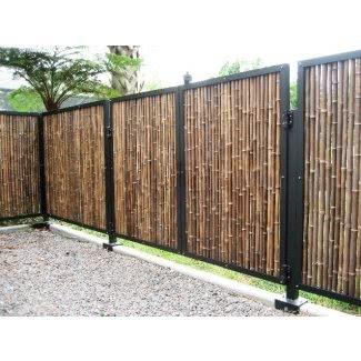 Cortinas de bambú para exteriores