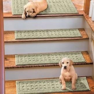 Alfombra antideslizante para peldaños de escalera 1