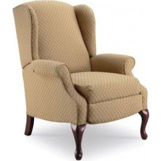 Sillón reclinable Hampton Wing Color: tostado