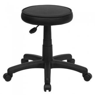 Flash Furniture KC96G-GG Taburete ergonómico médico, negro