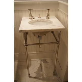 Consola de lavabo de boticario