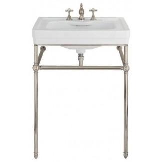 Lavabo para lavabo de consola Lutezia de 28 pulgadas de porcher traditional bathroom