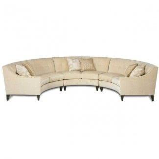 Sofá seccional circular