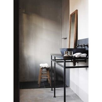 Mueble de lavabo de metal