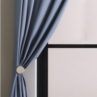 Retenedores de pasador de metal para las barras de cortina modernas