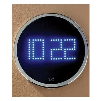 Reloj de pared LED 2552855 de London Clock Company detalle del producto