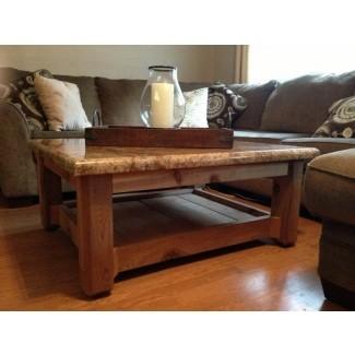 Mesas de café de granito