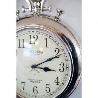 Reloj de pared de reloj de bolsillo grande