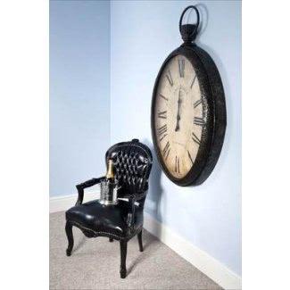 Reloj de pared gigante de reloj de bolsillo