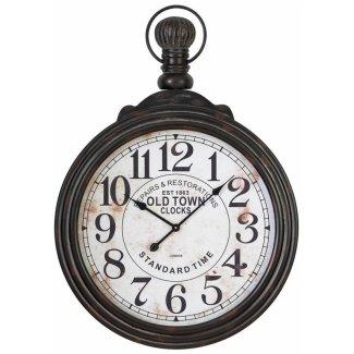 Reloj de pared grande estilo reloj de bolsillo Aspire 39