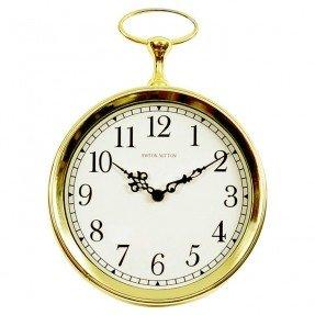 "Wyvil 10 ""Pocket Watch Wall Clock"