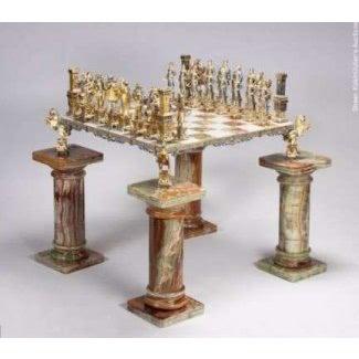 Muebles de mesas de tablero de ajedrez