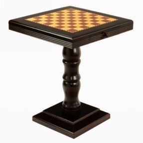 Mesa de ajedrez de pedestal
