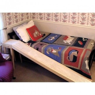 Rampa para cama para gatos