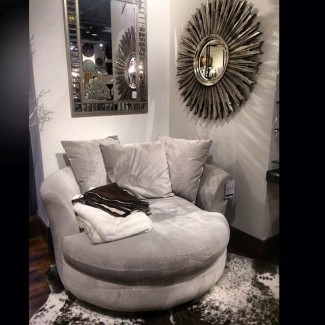 Chaise longue redonda