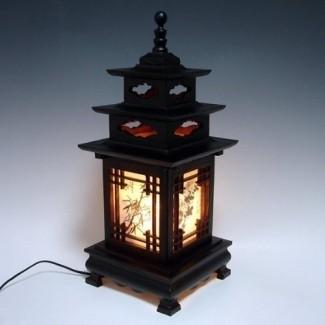 Lámparas de noche japonesas