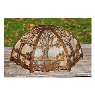 Pantalla de lámpara de vidrio escoria 8