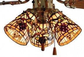 "4 "" Pantalla de lámpara de campana de vidrio"