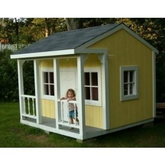 Planos de la casa de juegos para niños al aire libre
