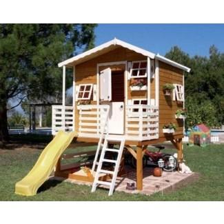 Casa de juegos de madera para niños 1