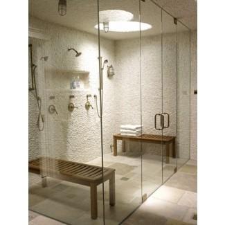 Taburete de madera para ducha