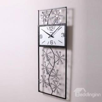 Reloj de pared rectangular grande
