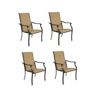 Garden Treasures juego de 4 asientos tipo arnés marrón con textura Eastmoreland
