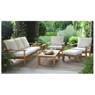 Muebles de jardín sin cojines 30
