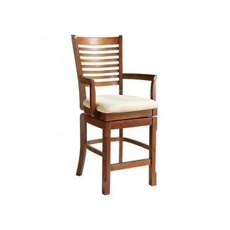 De maguire sillón de cerezo con altura de mostrador de sillones