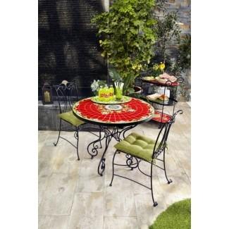 Juego de mesa de bistró de mosaico 2