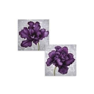 Arte de pared flujo púrpura ers