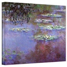 '' Sea Roses II '' de Claude Monet Pintura Impresión en lienzo