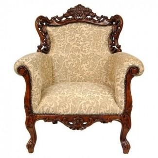 Melissa gorga sillón de orejas queen victoria