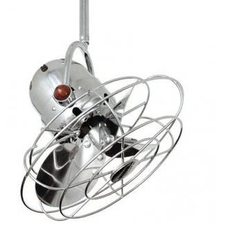 Ventilador eléctrico retro