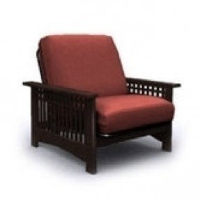 Estructura de silla de futón doble Rhodes Jr.