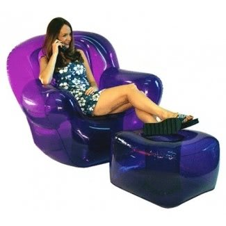 Silla inflable