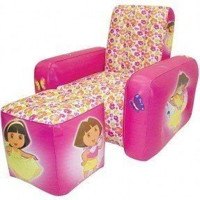 Nickelodeon Dora the Explorer Inflatable Kid's Club Chair